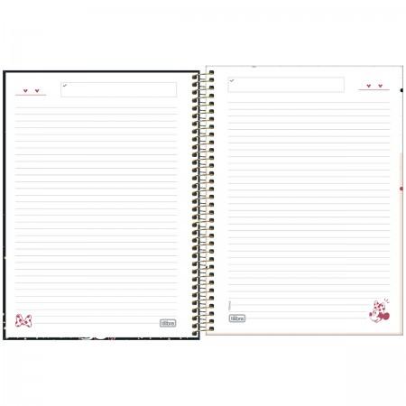 Caderno Espiral Minnie Tilibra Universitário 1 Matéria