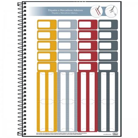Caderno Espiral Organizer Tilibra Universitário 1 Matéria