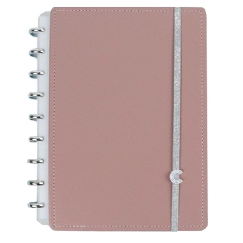 Caderno Inteligente Chic Nude Médio