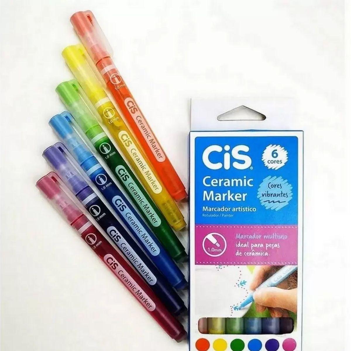 Caneta para Cerâmica Cis Ceramic Marker 1.0mm