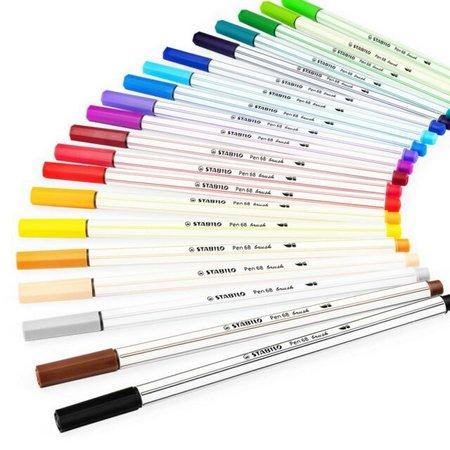 Caneta Stabilo Brush Pen 68