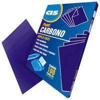Carbono Dupla Face Cis Violeta Caixa c/ 100fls