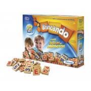 BRINCANDO COM LETRAS E NUMEROS