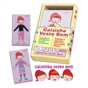 CAIXINHA VESTE BEM - ELA