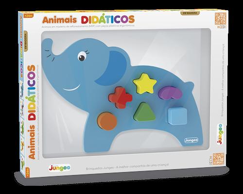 ANIMAL DIDÁTICO - ELEFANTE