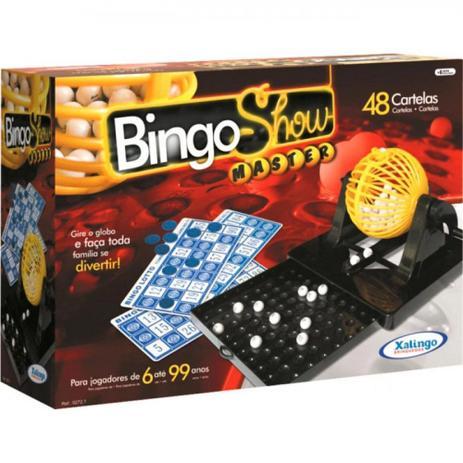 BINGO SHOW 48 CARTELAS C/GAVETA