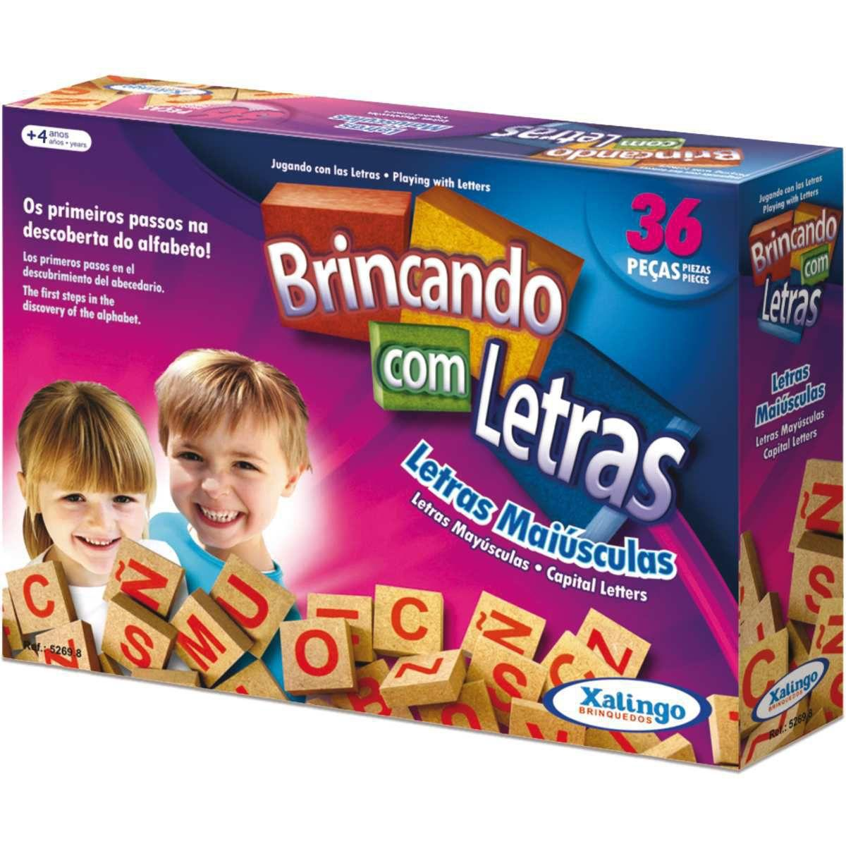 BRINCANDO COM AS LETRAS