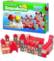 BRINCANDO DE ENGENHEIRO 200 PECAS