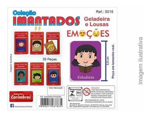 COLECAO IMANTADOS EMOCOES