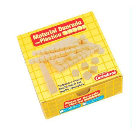 MATERIAL DOURADO PLASTICO 62 PCS - PAPELAO