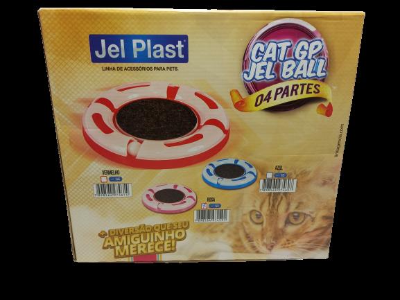 01 Pist Cat Jel Ball Rosa 38,3x38,3x5,5cm