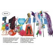 Kit 01 com 12 itens