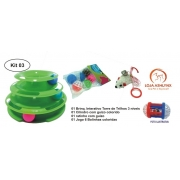 Kit 03 com 4 itens
