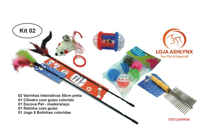 Kit 02 com 6 itens