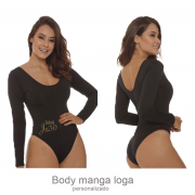 Body Personalizado Manga Longa