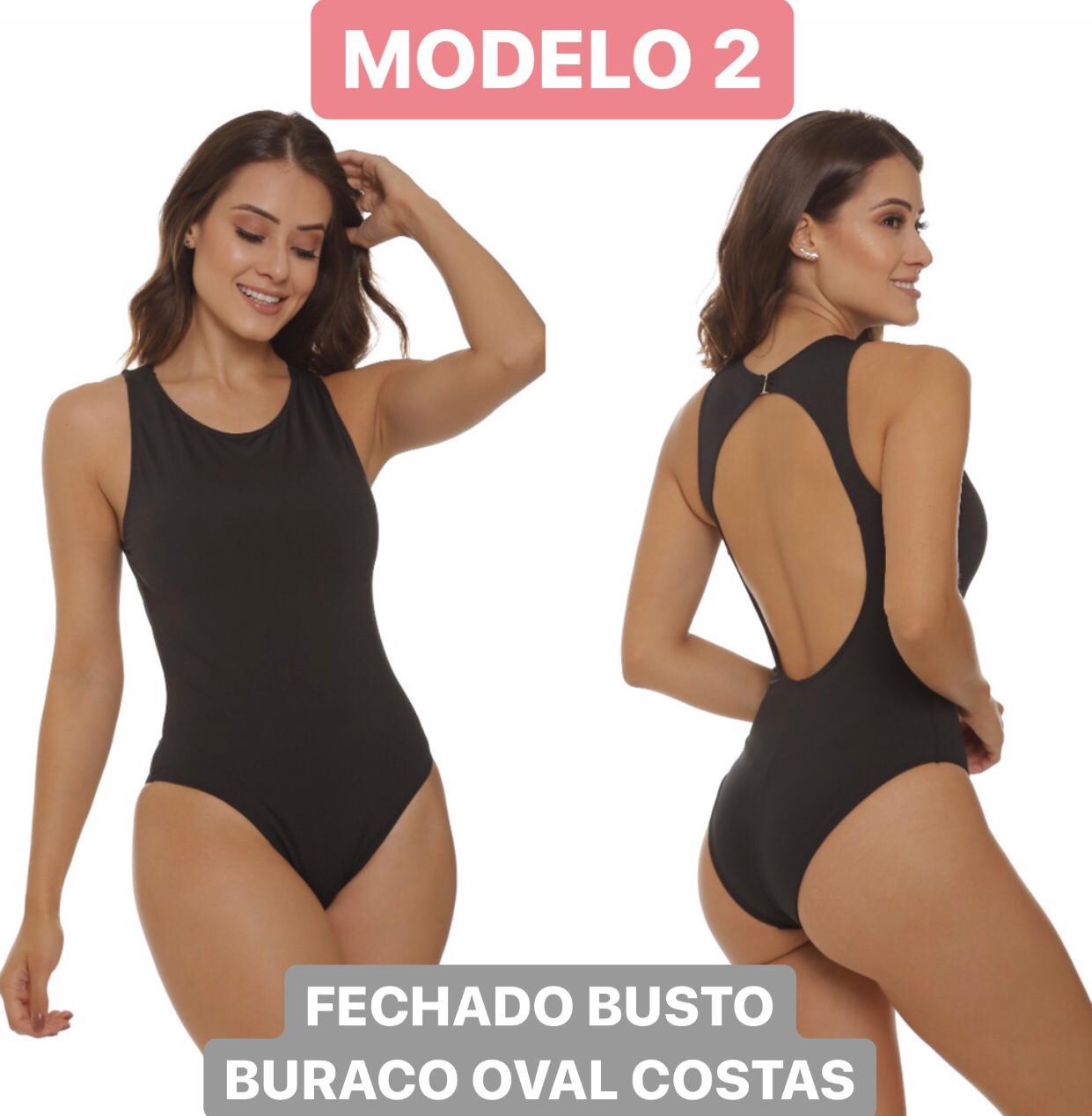 Body / Maiô Personalizado - Modelos 1, 2, 6, 10