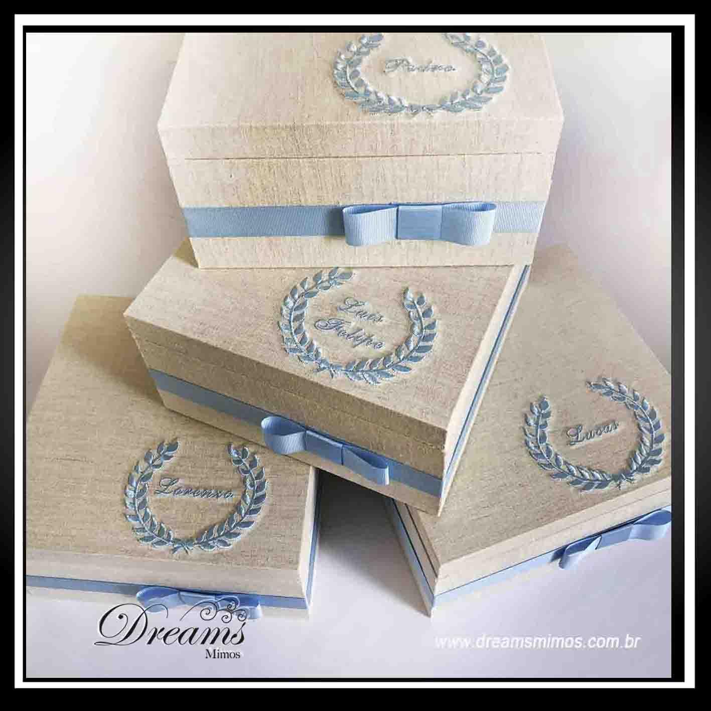 Caixa Luxo 17x17x7cm ou 31x9x7cm
