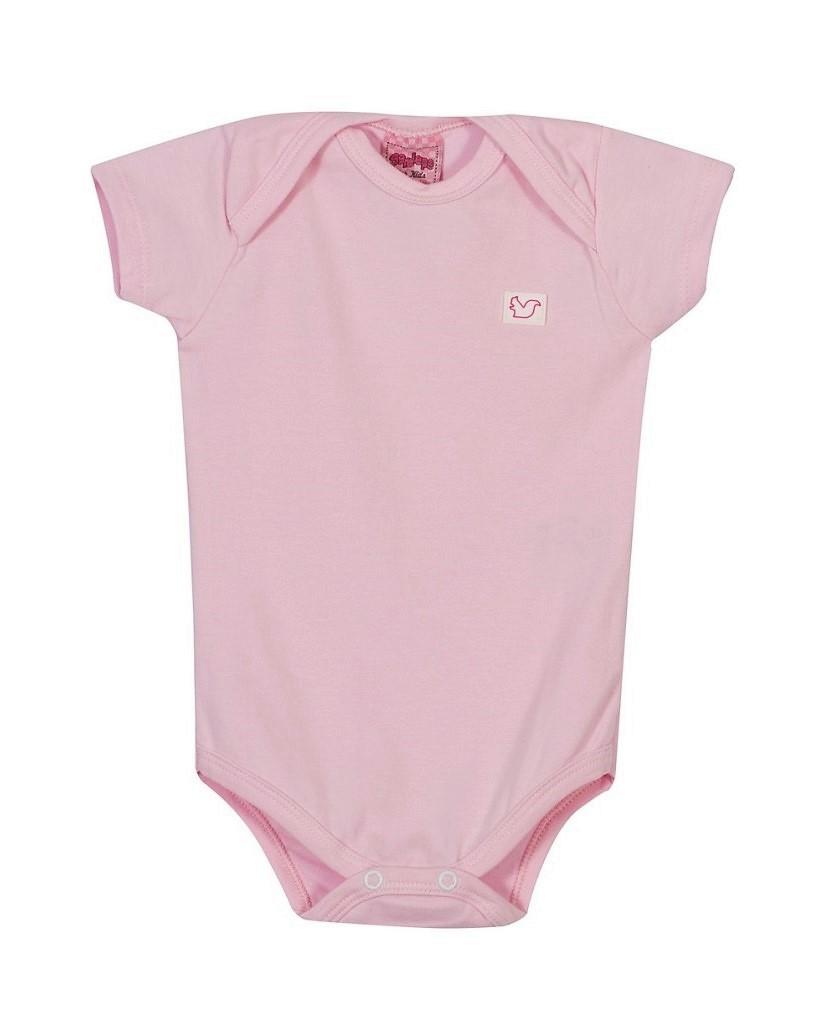 Body Bebê Menina - Rosa Pétala
