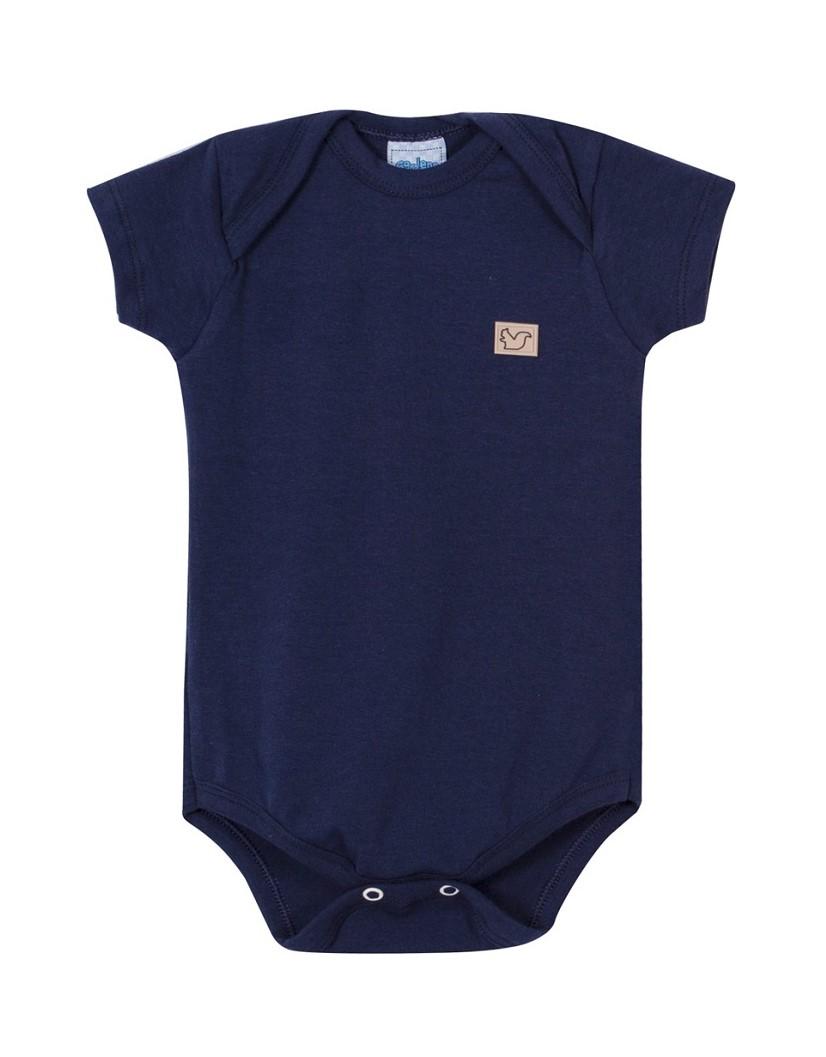 Body Bebê Menino - Marinho