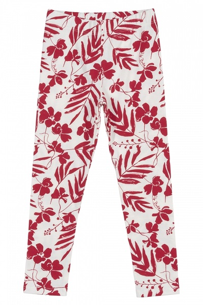 Conjunto Infantil Menina Legging/Blusa Vermelho