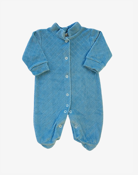 Macacão de Plush Azul