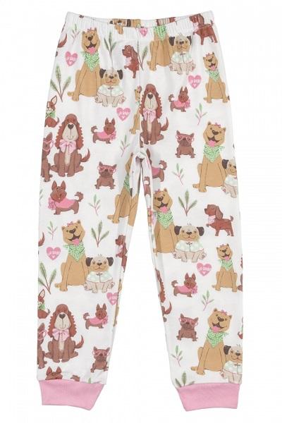 Pijama Up Baby Menina Suedine Cachorrinhos