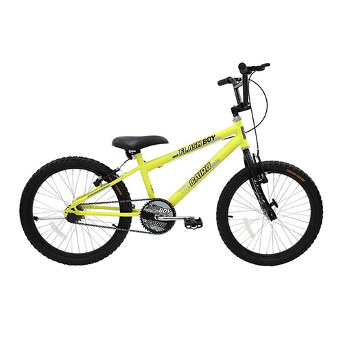 Bicicleta Aro 20 Cross Flash Boy - Laranja Neon