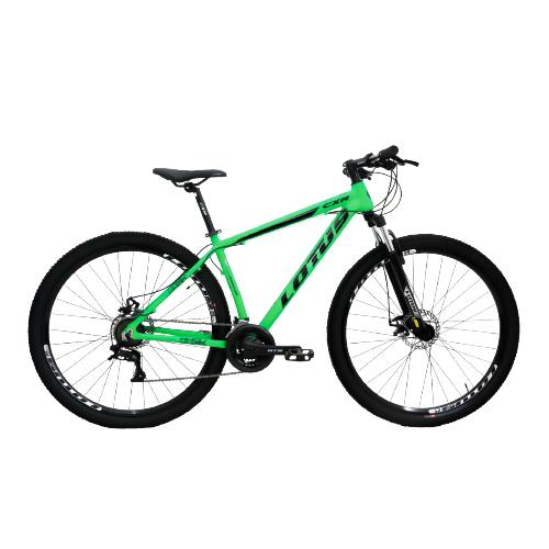 Bicicleta Lotus Aro 29 CXR 21v - Verde e Preta