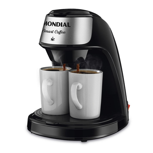 Cafeteira Mondial 2 xícaras Smart Coffee C-42-2X-BI