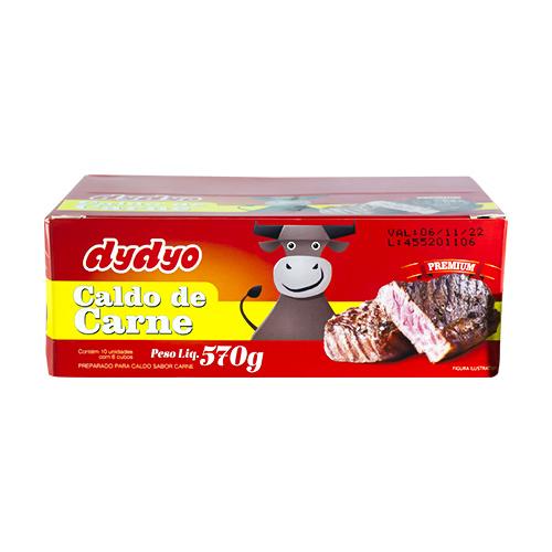 Caldo de Carne Dydyo 10x57g