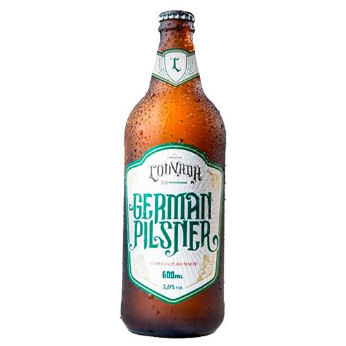 Cerveja Louvada German Pilsner 600ml