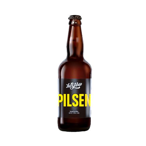Cerveja La Birra Pilsen 500ml