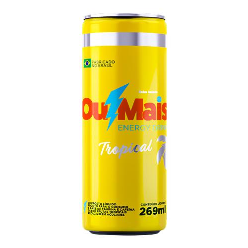 Energético OuMais Tropical 12x269ml