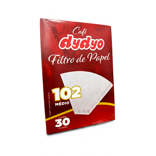 Filtro de Papel Dydyo Nº102 - Pacote c/48