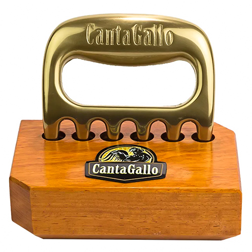 Garra de Urso CantaGallo Dourada c/base