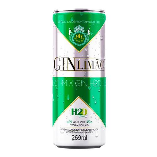 H2D Gin Limão 12X269ml