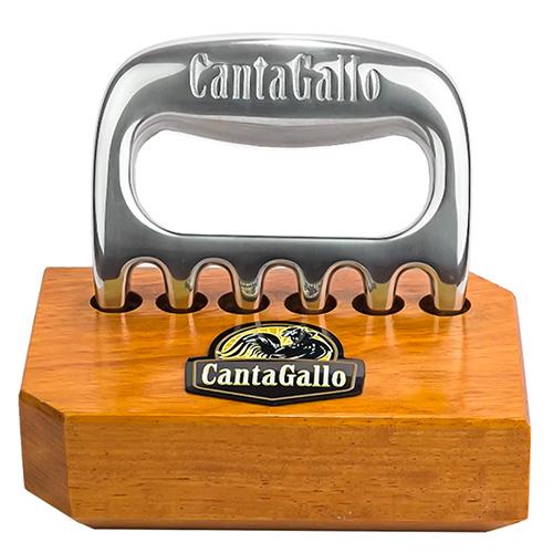 Garra de Urso CantaGallo Prateada c/base