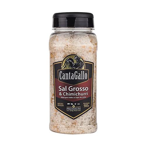 Sal Grosso e Chimichurri CantaGallo 900g
