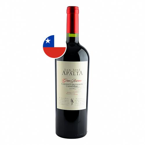 Vinho San Jose de Apalta Gran Reserva Cabernet Sauvignon Carmenere 750ml