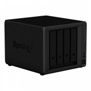 Servidor NAS Synology DiskStation DS420+ com 4 baias e 2 slots para SSD M.2 NVMe