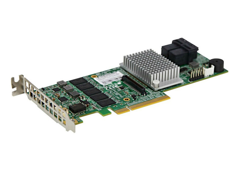 CONTROLADORA RAID SUPERMICRO AOC-S3108L-H8IR RAID SAS 3.0 PCI-E X8 2GB 2 IPASS