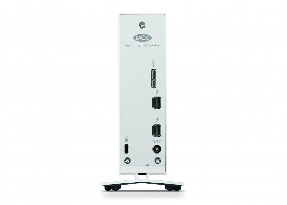HD Externo LaCie d2 8TB Thunderbolt3 2 e USB 3.0