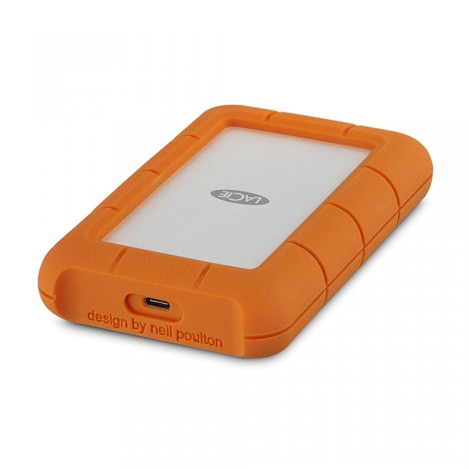 HD Externo Portátil 2TB LaCie Rugged USB-C