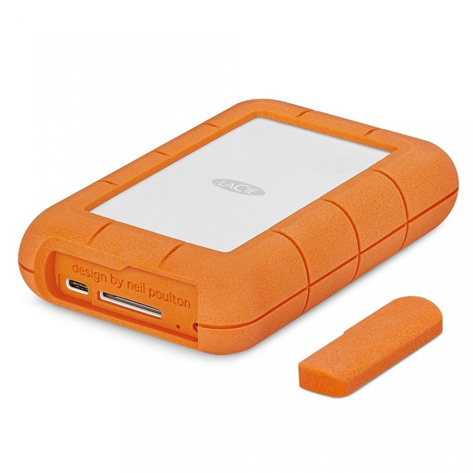 HD Externo Portátil 4TB LaCie Rugged RAID Pro USB-C