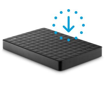 HD Seagate Expansion Portátil New 2TB