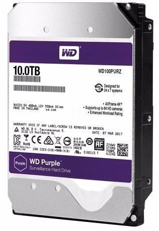 HD WD Purple 3.5 10TB