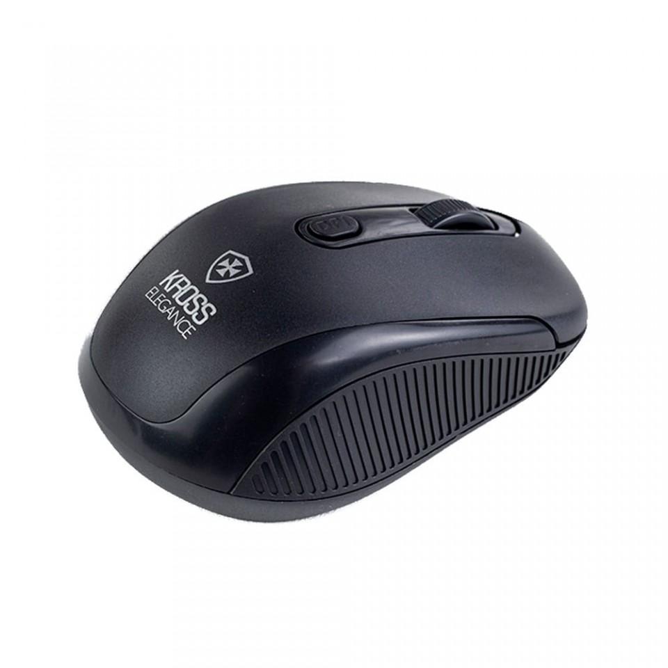 Kit Teclado e Mouse sem Fio Kross Preto KE-KM558V1