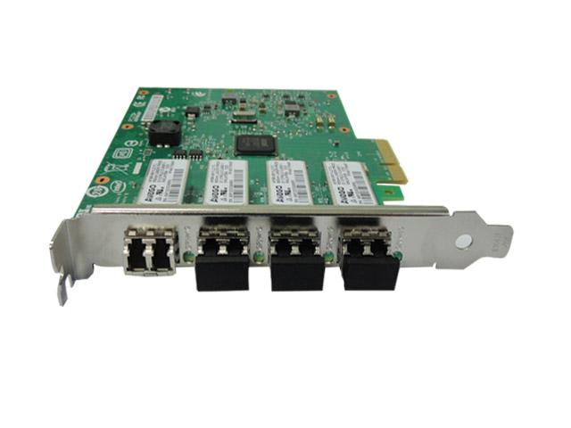 PLACA DE REDE SERVER PCI INTEL E1G44HFBLK 4 PORTAS FIBER CHANNEL 1GIBIT PCIE