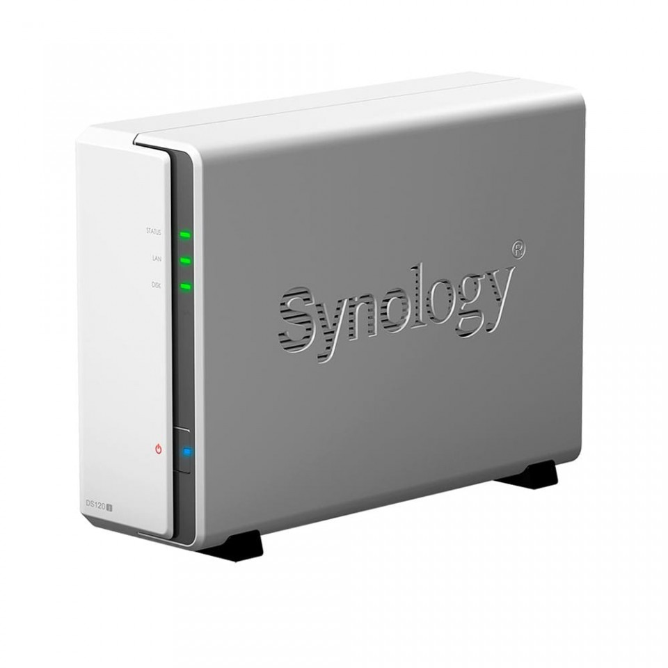 Servidor NAS Synology DiskStation DS120j 1 Baia – DS120j