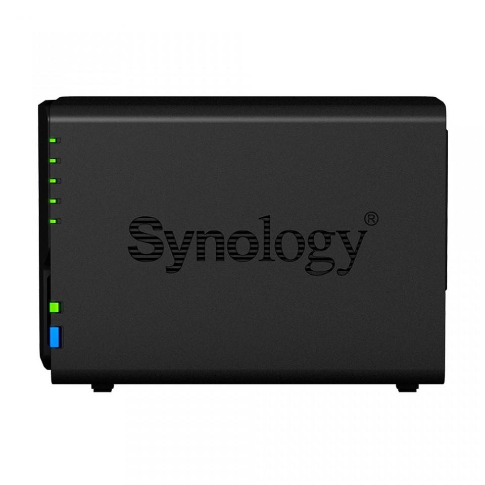 Servidor NAS Synology DiskStation DS220+ com 2 baias